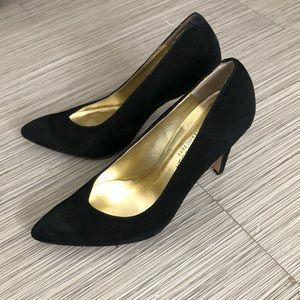 Sole Society Suede Black Heels!